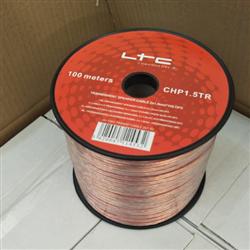 100M Transparent Speaker Cable