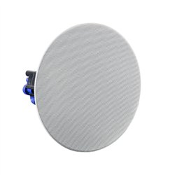 "6.5"" Economy Frameless Ceiling Speaker with Transformer"