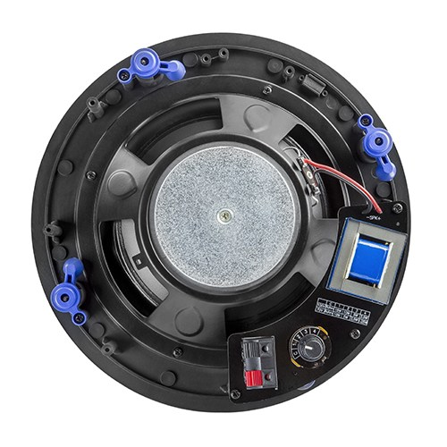 "8"" Economy Frameless Ceiling Speaker with Knob-Style Transformer"