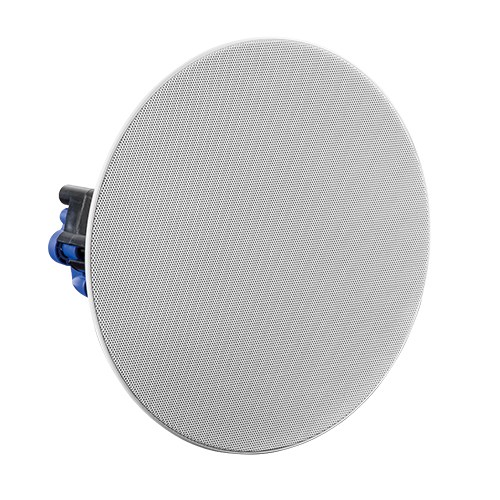 "8"" Economy Frameless Ceiling Speaker with 70/100V Knob-Style Transformer"