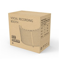 Mini Portable Vocal Recording Booth
