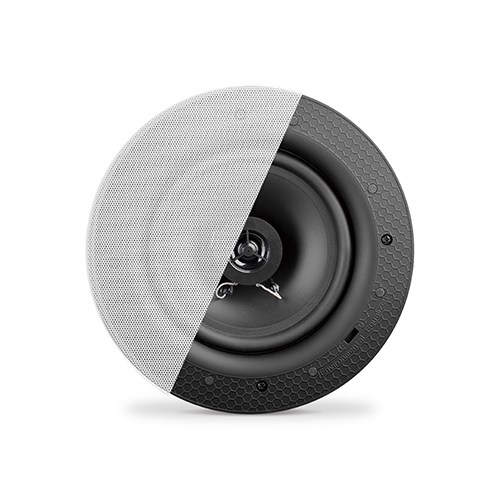"5.25"" Economy Frameless Ceiling Speaker with 70/100V Knob-Style Transformer"