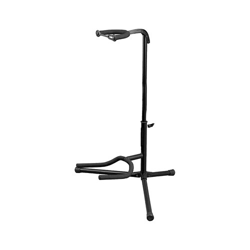 2 Tier Adjustable Upright Tripod Guitar Stand