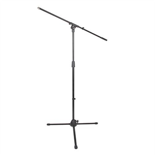 Tripod Boom Microphone Stand with Base Locking Knob