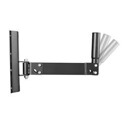 Wall Mount Pivot & Swivel Pro Audio Speaker Bracket Stand with Tiltable Speaker Pole