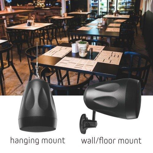 4'' Multi-Purpose Pendant Speakers (Pair)