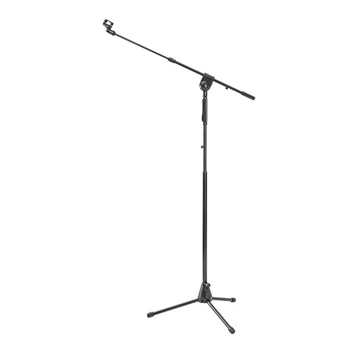 Telescopic Boom Microphone Tripod Stand with Hand Clutch