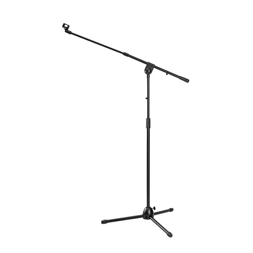 Heavy-Duty Telescopic Boom Microphone Tripod Stand