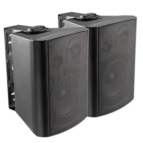 Bluetooth Powered Indoor Wall Speaker Pair Set