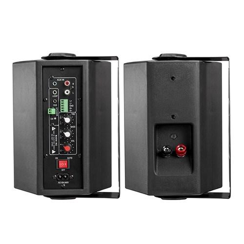 Bluetooth Powered Indoor Wall Speakers (Pair)