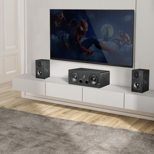 4'' Affordable Bass Reflex Center Channel Speaker for Home Theater