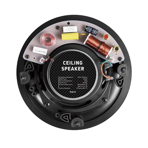 "5.25"" Pivoting Tweeter Affordable Ceiling Speaker"