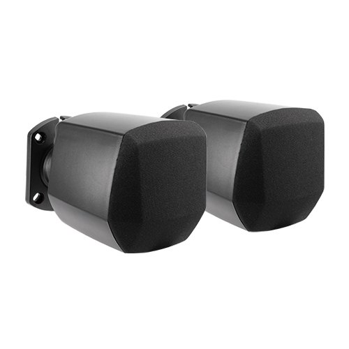 Mini Satellite Wall Speakers with 100V Transformer