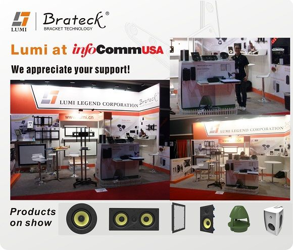 2013 Lumiaudio at InfoComm Fair