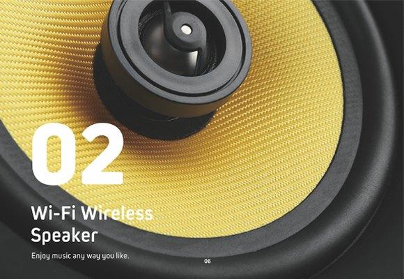 Wi-Fi Wireless Speaker