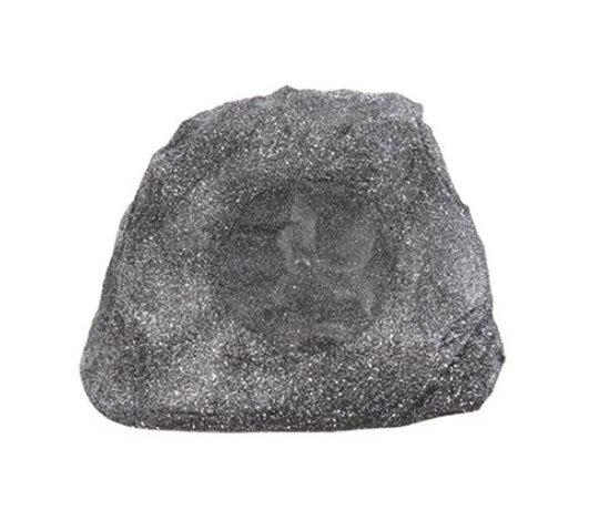 """6.5"""" Outdoor Weather-Resistant Granite Rock Patio Speaker"""